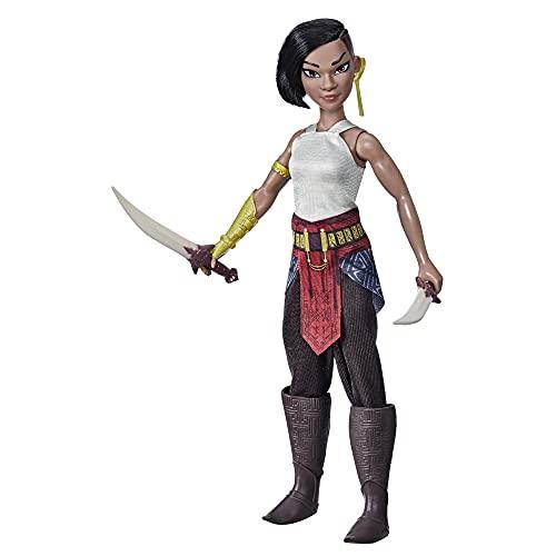 Muñeca Namaari de Raya y el último dragón de Disney, Conjuntos y Accesorios a la Moda, Juguete para niños a Partir de 3 años