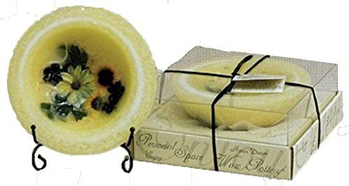 Habersham Personal Space Wax Pottery Vessel- Sunflower Lemon Vanilla 03