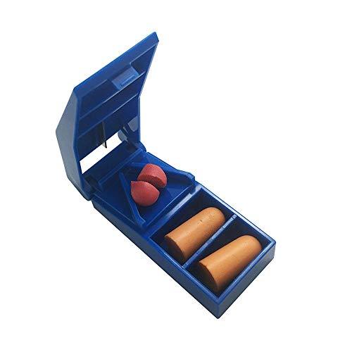 Maniny Tragbarer Tablettenteiler für große und kleine Tabletten, Tablettenschneider mit scharfer Edelstahlklinge - 5 Stücke Blue 5pcs