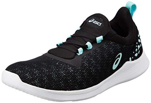 ASICS Women Fit Sana 4 Black/ICY Morning Multisport Training Shoes-4 UK/India (37 EU) (6 US) (1032A004.002)
