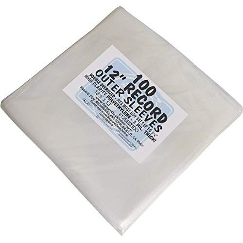 100 Fundas Grandes para LP Y Doble LP Discos DE Vinilo - Marca Cuidatumusica - / Ref.2465