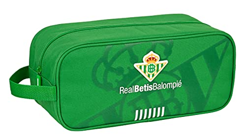 safta Zapatillero Mediano de Real Betis Balompié, 340x140x150 mm