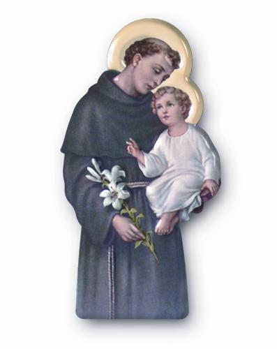 Plaque Saint Antoine St Antoine Saint Antoine de Padoue Image de Saint Antoine Cadeau Saint Antoine Aimant de Saint Antoine