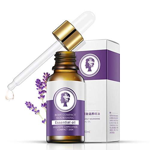 Aceite de lavanda, Lavanda Aceites esenciales para adelgazar Pierna fina Cintura Quemar grasa Aceite adelgazante corporal 30 ml