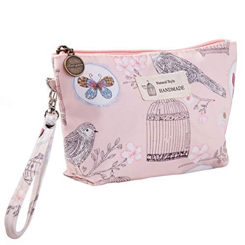 Bolsa de cosméticos multifuncional de impresión, bolsa de cosméticos de moda para mujer, bolsa de almacenamiento de artículos de tocador de viaje, bolsas de cosméticos, bolsa de belleza impermeable