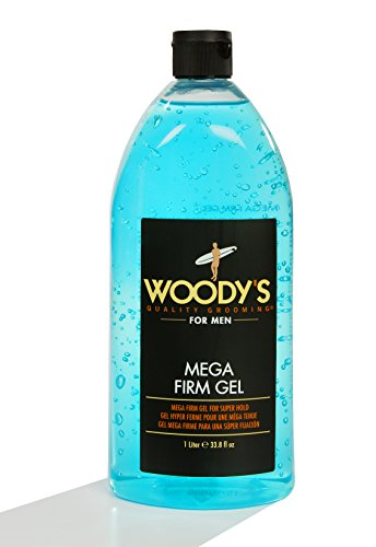 Woody's Mega Firm Gel for Men, 33.8 Ounce