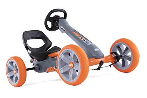 Berg Pedal Gokart Reppy Racer | Kinderfahrzeug, Tretauto mit Optimale Sicherheid, Soundbox im Lenkrad, Kinderspielzeug geeignet für Kinder im Alter von 2.5-6 Jahren