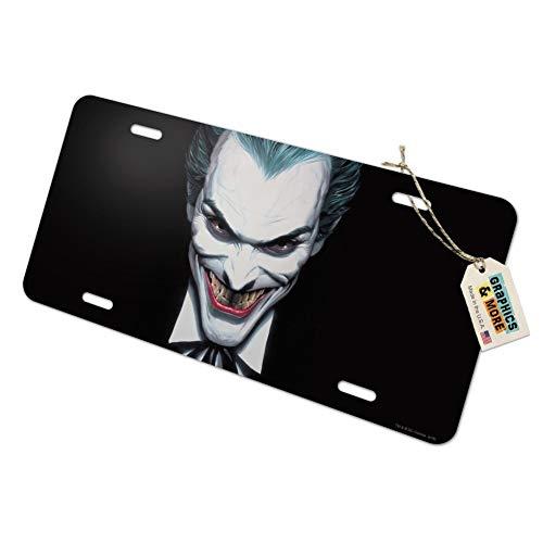 Graphics and More Batman Alex Ross Joker Head Novelty Metal Vanity Tag License Plate