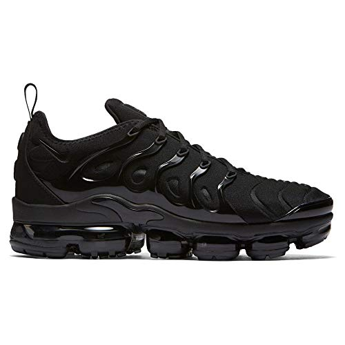 Nike Adults' Air Vapormax Plus Gymnastics Shoes, BlackDark Grey 004, 8 UK