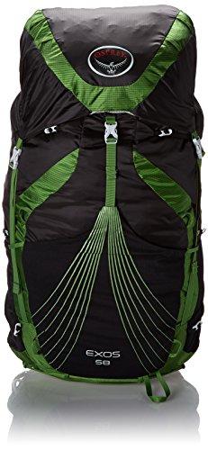 Osprey Exos 58 - - M vert/noir sac a dos randonnée