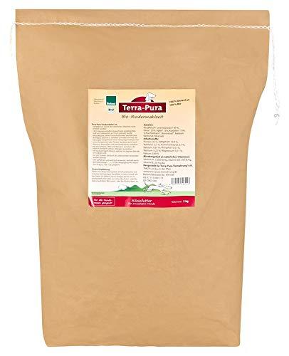 Trockenfutter für den Hund, Bio-Rindermahlzeit, 5 kg