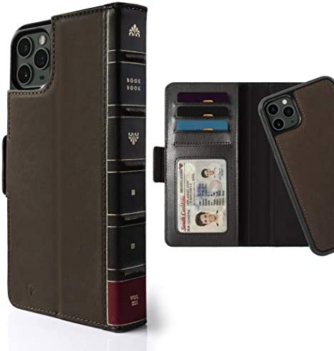 Twelve South BookBook for iPhone 11 Pro 3 in 1 Leather Wallet Case with Display Stand and Removable product image