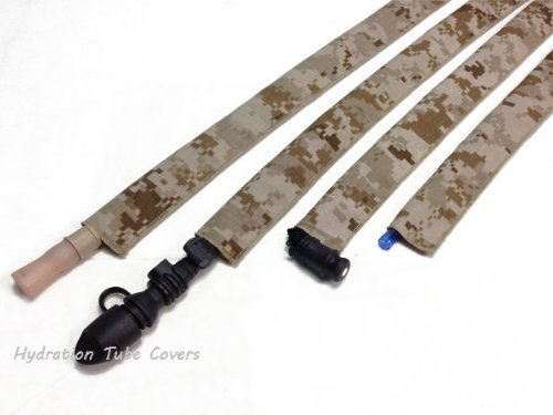 MARPAT Desert Digital Hydration Pack Drink Tube Cover by Hydration Tube Covers