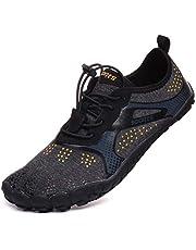 WHITIN Unisex brede teen minimalistische Trail Running Barefoot schoenen