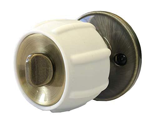 New Enjoy Cover - Door Knob Cover Grips Non Slip Arthritis & Senior Living Aids Grippy Easy Open Decorative. Simple Functional Effective Solution- 4 Pack (White, Brandywine)
