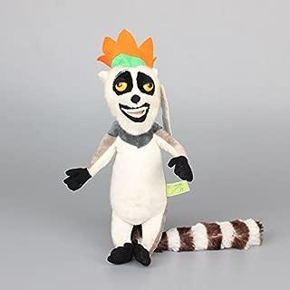 Madagascar King Julien 8 Inch Toddler Stuffed Plush Kids Toys