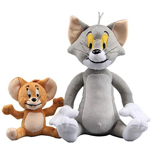 Unbekannt DS *2 Figuren* Tom UND Jerry 30 + 17 cm Katze Maus