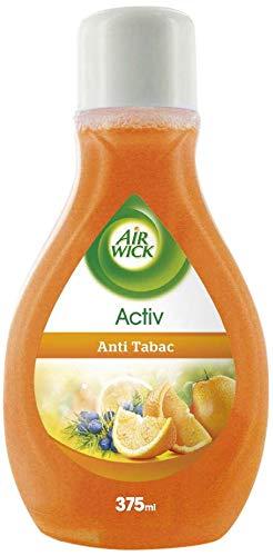 Air Wick Activ – Duftaufsteller mit frischem Duft gegen Tabak und unangenehme Gerüche – Duft: Anti-Tabak – 375ml