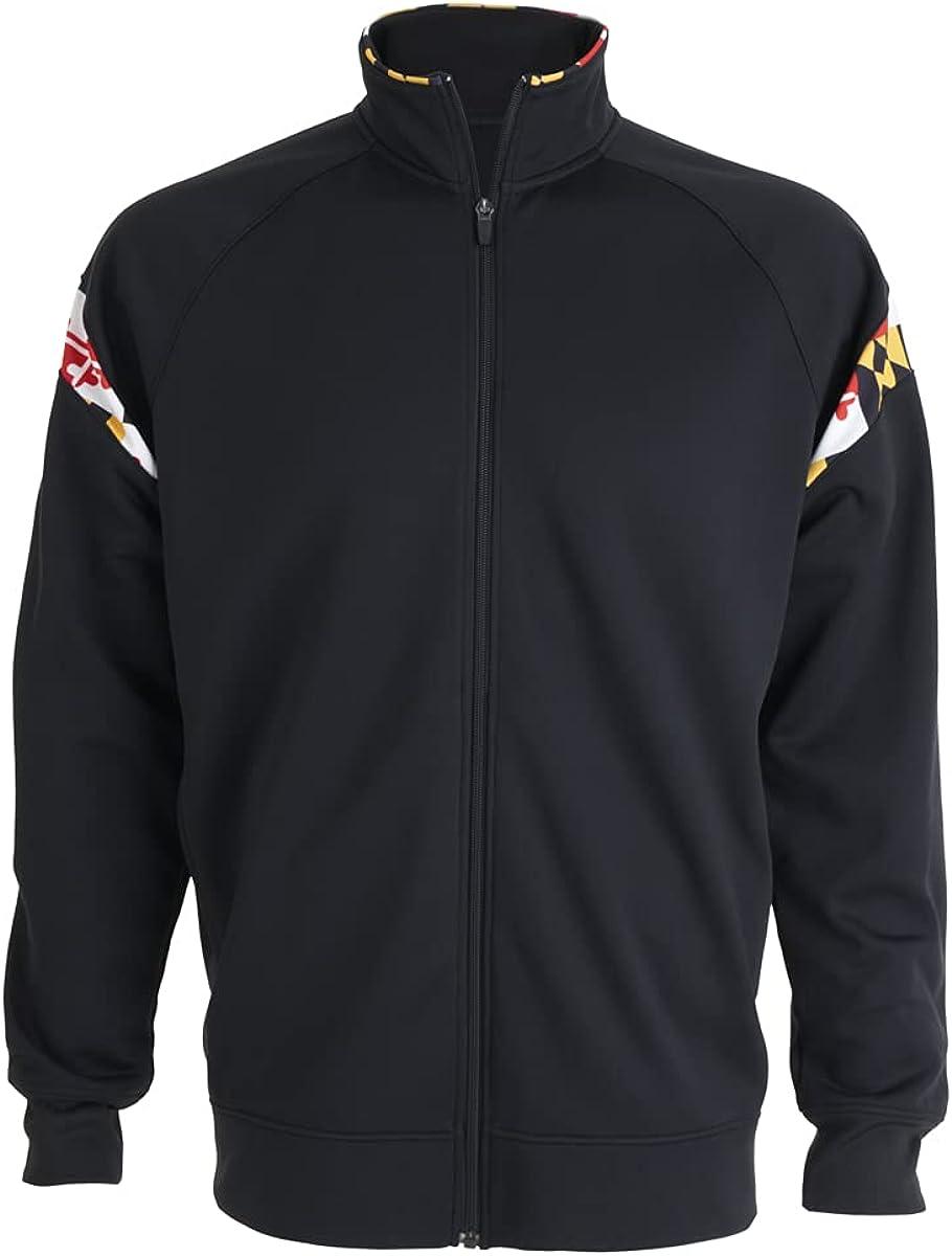 Covalent Activewear Maryland Flag Souvenir Gift Boys Youth Flash Jacket