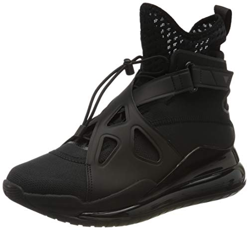 Nike Wmns Jordan Air Latitude 720, Scarpe da Ginnastica Donna, Black/Black/Black, 41 EU