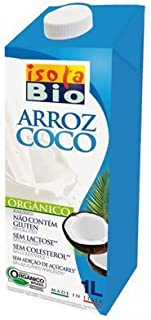 Bebida de Arroz y Coco Bio 6 unidades de 1 litro de Isola Bio