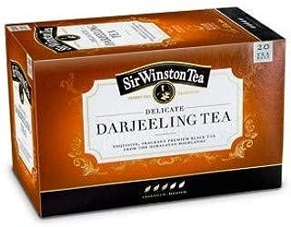 Sir Winston Tea - DELICATE DARJEELING TEA - 4 x 20 Tea bags (80 count)