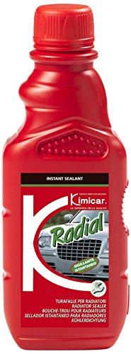 Kimicar 0670150 Radial Sigillante Turafalle per Radiatori, 200 ml, Giallo Chiaro, Set di 1