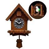 NANANA Reloj de Cuco Alemán, Cuarzo Reloj de Cuco Selva Neg