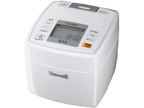 三菱 IHジャー炊飯器 NJ-VV105-W 5.5合炊き ピュアホワイト NJ-VV105-W