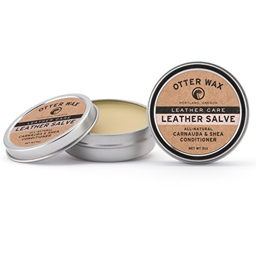 Price comparison product image Otter Wax Leather Salve / 2oz / All-Natural Universal Conditioner / Made in USA