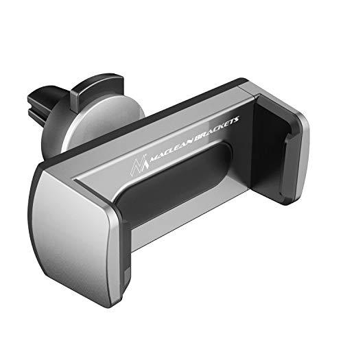 Maclean Soporte Universal móvil para Rejilla de ventilación Coche Comfort MC-783-ABS Compatible con iPhone 7 / 6s / 6 / 5s / 5 Samsung Galaxy Note LG
