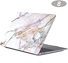 BALOO-Laptop Bags & Cases - Marble Laptop Hard Case for for Macbook Air 13 Pro Retina 11 12 13 15 with Touch Bar Coque Etui for for Macbook Pro 13 15 Pouce of A1708 (H New pro13 A1706)