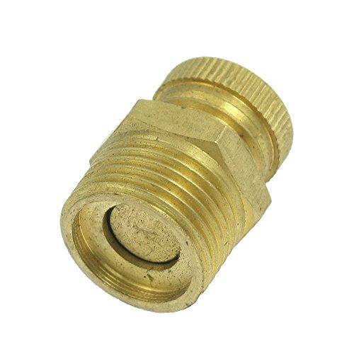 Preisvergleich Produktbild Entwaesserungsventil - SODIAL(R) 13mm Entwaesserungsventil golden