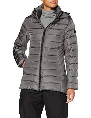Cmp Giacca Imbottita Feel Warm Flat Fix Hood, Donna, Dust, 52, Dust