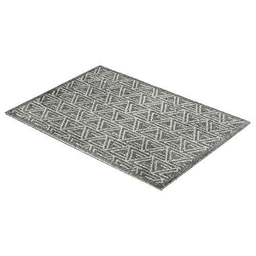 Schöner Wohnen Fussmatte Manhattan Triangle grau 040 | 67x100 cm