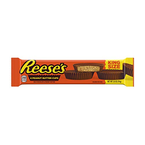 REESE'S Peanut Butter Cups, Chocolate Candy, King Size