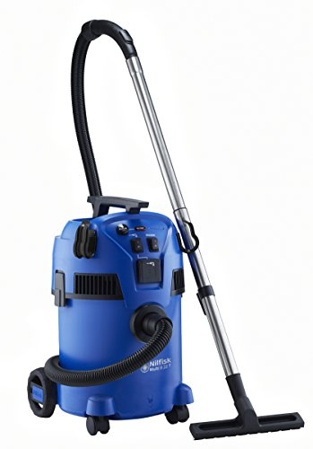 Nilfisk 18451585 Multi ll 22T Wet and Dry Vacuum Cleaner with Power Take Off, 1200 W, 240 V, Blue, 22 Litre