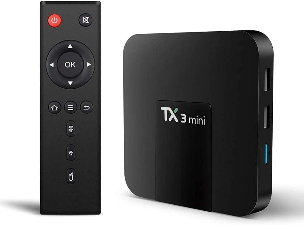 Sofobod TX3-Mini Android 8.1 Smart TV Box 2GB RAM 16GB ROM 2.4G/5G Dual WiFi, BT 4.1 H.265 Decoding HD 4K Set top Box