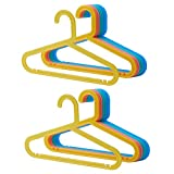 Ikea BAGIS - Perchas infantiles (16 unidades), colores pastel