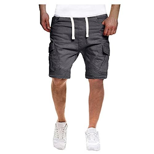 Nuevo 2021 Pantalones Cortos Hombre Verano Casual Moda trabajo Corta Pantalones Pants shorts Deporte Jogging Pantalon Fitness Chandal Hombre Cordón Ropa de hombre playa Pantalones de Trekking