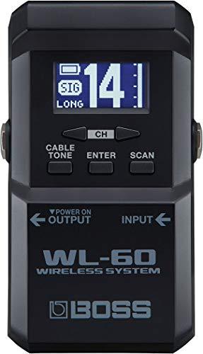 BOSS WL-60 - Transmisor de sistema inalámbrico de guitarra