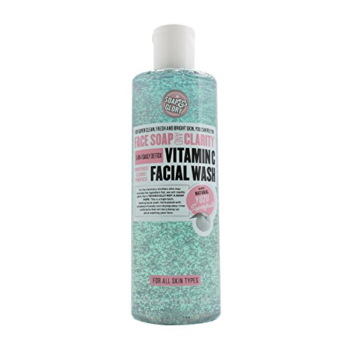 Soap & Glory Face Soap And Clarity 3-In-1 Daily Detox Vitamin C Facial Wash 350Ml