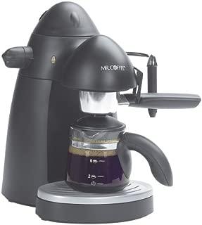 Mr. Coffee ECM20 Steam Espresso Maker, Black