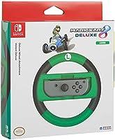 HORI - Nintendo Switch Mario Kart 8 Deluxe Wheel Attachment Luigi Edition (Nintendo Switch)