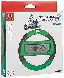 professional HORI Nintendo Switch Mario Kart 8 Deluxe Wheel (Luigi Version) Officially Licensed by Nintendo -…