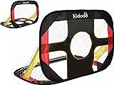 Kidodo Fußballtor kinder Torwand Fussballtore für kinder Pop up Tor Fussballtore für Garten