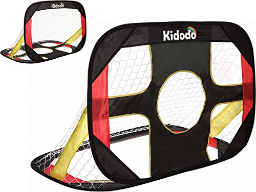 Kidodo Soccer Goal for Backyard Kids Soccer Goals Soccer Goals for Kids pop up Soccer Goal net for Toddler Goal net Targets Portable Soccer Goal net Mini Soccer Goal Training Football 1 Goal