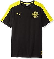 Puma Camiseta de Borussia Dortmund T7 TEE para Hombre