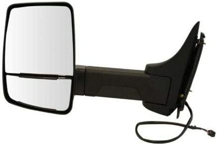 YHA Tow Ranking Excellence TOP14 Mirror Power Textured Black wi Driver Left LH Compatible