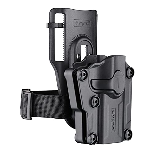 Universal OWB Holster with Low Ride Belt Loop - Compact &...